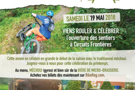 May 19 Barbecue to kick off biking season at Circuits Frontières
